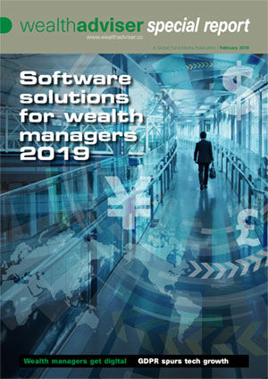 Software solutions for wealth managers 2019